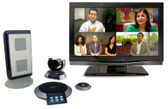 Videokonferenz Videoconferenzing Unified Communications LifeSize Polycom Microsoft Lync